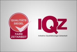 Qualitätssiegel Faire Zeitarbeit der IQZ